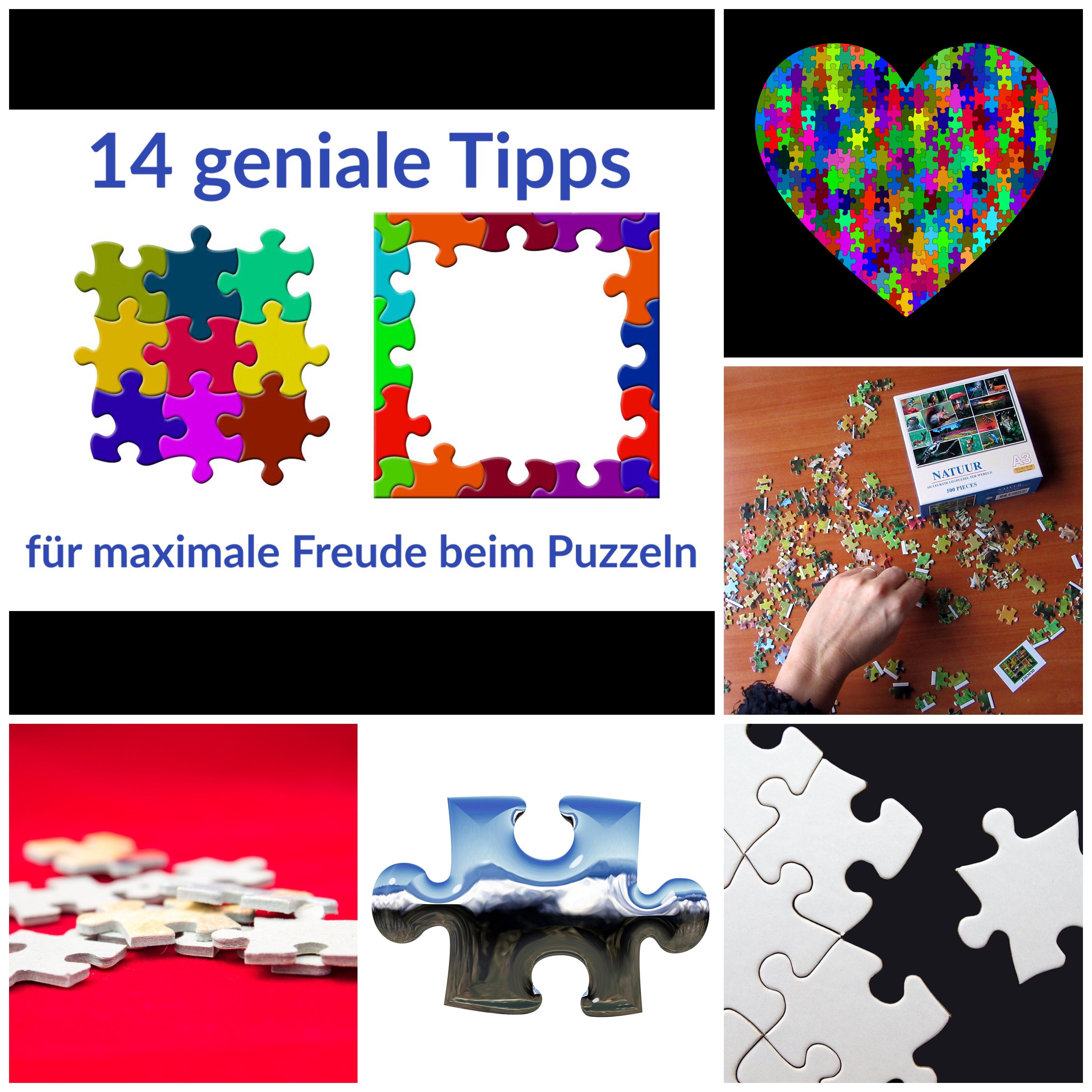 14 Tipps für Freude beim Puzzeln - Puzzle Tipps